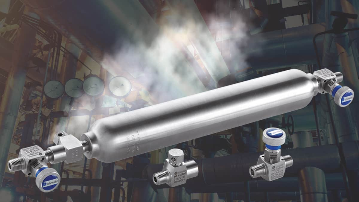 DirectMountSystem - Eliminate leaks and over-pressure by using mini valves and rupture disc holders.