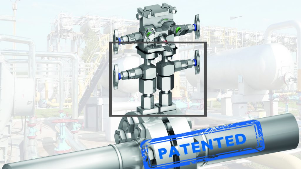DirectMountSystem - Assembly of the patented stabilized connector.